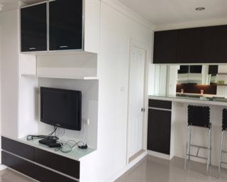 (Rent) 1 bedroom, 40sqm Located within 20mins walk from Central plaza rama9, rama9 MRT!!
