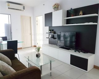 (RENT) 2 bedrooms, 65sq.m , fully funished!! Within 10mins walk from rama9 MRT and Central...